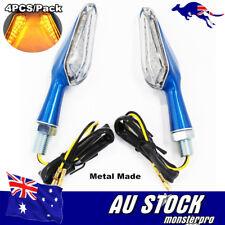 4x Blue LED Turn Signal Indicators Aprilia RSV 4 Millie RS 125 250 Tuono 1000