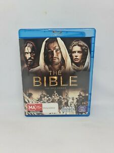 THE BIBLE Complete Blu-ray Region B TV Show Very Good Condition