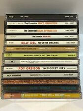 12 Cd Lot Classic Rock The Cars Bruce Springsteen Eric Clapton Billy Joel Zz Top