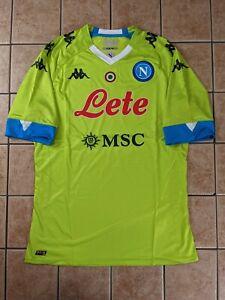SSC Napoli 20/21 Away GK Match Blank Jersey Men's Kappa NWT Goalkeeper sz 3XL