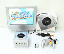 GameCube Nintendo Game Console Silver Boxed DOL-10 Working Japan Excellent ++