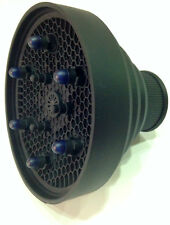 Difusor Universal PortatiL Plegable de SilicoNa Color Negro Secador Profesional