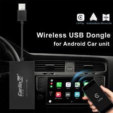 Wireless Bluetooth USB Carplay Dongle for IOS Android + Car Auto Navigation Play