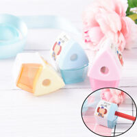 Mini Cartoon House Pencil Sharpener For Student Kids Gifts Office StationeryEP