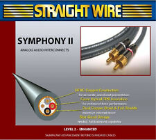 """Straightwire Symphony II 1/8""""3.5mm to dual Male RCA iPod Audio Cable 3 Meter"""