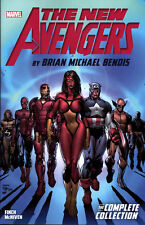NEW AVENGERS by BRIAN MICHAEL BENDIS VOL #1 TPB Marvel Comics TP 504 Pages!