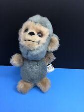 "Rare Vintage Enesco Imports Corp 7"" Monkey Plush Stuffed Animal Toy Gray Tan"