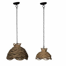 Rope Woven Chandelier/Pendant Set Of 2 - 43739-DS