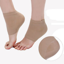 1 Pair Silicone Moisturizing Foot Skin Protection Cracked Care Heel Socks_w