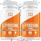 L-Tyrosine 1000mg Capsules Brain Memory Supplements Happy Pills (180 Capsule)
