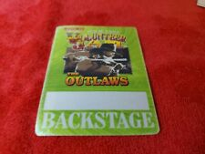 Vintage Outlaws Tour 2007 Volunteer Jam Backstage Pass