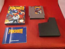 Punch-Out Nintendo Entertainment System 1990 NES COMPLETE w/ Box Punchout