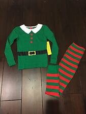 NWT Kids Xmas PJ Elf 2 Piece Family Holiday Pajamas 4