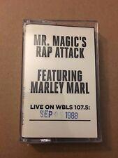 Mr Magic's Rap Attack W/ DJ Marley Marl 9-5-88 Cassette Mixtape Tape