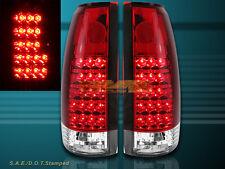 92 93-98 YUKON TAHOE SUBURBAN TAIL LIGHTS 94 95 96 LED