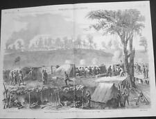 Vicksbury - Sherman's Attack on Rebel Works  - Large Size  - Civil War  - 1863