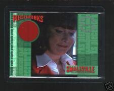 Smallville season 4  PW7  B.Crosby   pieceworks card