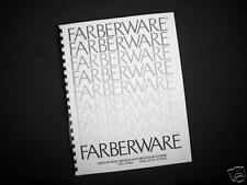 Farberware 450N 455N 455ND Broiler Rotisserie Instructions Manual & Recipes