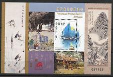 Famous Artistes Tableaux MNH SOUVENIR feuille 2016 Macao #1487