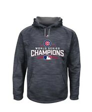 PERFECT GIFT Cubs Majestic World Series Champions Fleece Pullover Hoodie M Wm L