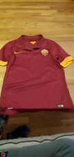 Vintage Roma Soccer Futbol Nike Kit Jersey Serie A 2014 Jersey nike
