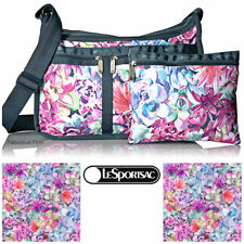 LeSportsac Desert Bloom Deluxe Everyday Crossbody Bag Free Ship NWT Floral E123
