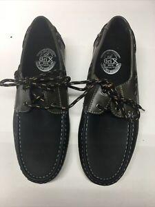 Men Brix Moccasim Boat Shoes. Size 7.5