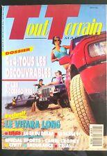 Tout Terrain Magazine N°28 du 7/1991; Tous des découvrables et les accessoires