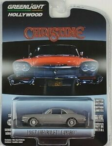 1:64 GreenLight 1967 Chevrolet Camaro Hollywood 27 Christine