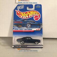 1970 Chevelle SS #915 * Blue w/ Hold Stripe Variation * 1999 Hot Wheels * J14