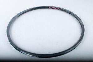 SINGLE Velocity A23 custom 650c Disc Alloy Rim Black Road 28H tubeless - New