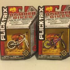 Flick Trix Bomber Bikes Die-Cast Hoffman Bike & Haro Bike (lot of 2)