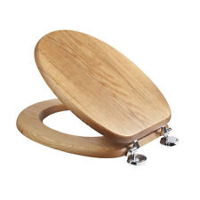 Croydex Bloomfield Oak Toilet Seat - WL530976H