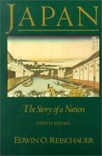 Japan: The Story of A Nation by Reischauer,Edwin, Good Book