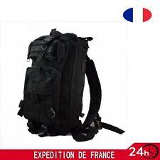 Sac à dos armée militaire randonnée tactique alpinisme étanche 35L noir Camping