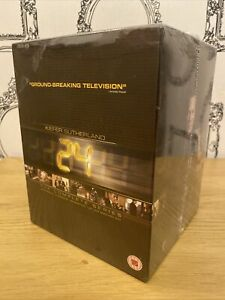 24: The Complete Collection - Series 1-8 Box Set + Redemption - New And Sealed