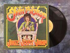 GFA Juke Joint Jump * ELVIN BISHOP * Signed Record Vinyl Album PROOF AD1 COA