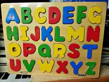 Bemiss-Jason Creative Learner Wood Wooden Easy Out Classic Alphabet Puzzle Toy