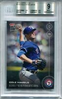 2016 Topps Now 149 Cole Hamels /319 BGS 9 MINT