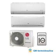 Climatizzatore Inverter LG Dual Split 9+12 9000+12000 Btu A++ MU2R17 R32