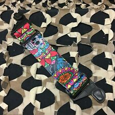 New Km Paintball Evs Mask Goggle Strap - Special Edition Sugar Skull