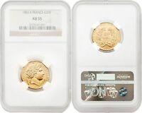 France 1851-A 20 Francs Gold NGC AU55 SKU#4159