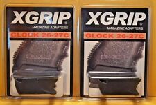 X-Grip Adapter (2) 26-27C Use Glock 19/23/32 Mags in 26/27/33-9/40/357