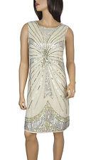 Lush Bird1920's Gatsby fully embellished shift dress from size 8 to PLUS SIZES