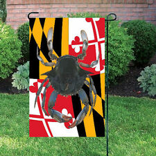 Brand New Maryland State Flag Banner Maryland Blue Crab House Garden 25 x 40''