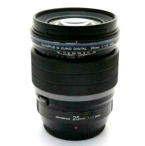 New OLYMPUS M.Zuiko Digital ED 25mm f/1.2 PRO Lens Micro Four Thirds Mount