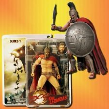 300 Series 1 King Leonidas Action Figure by NECA