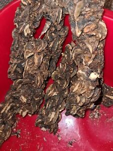 Ghana dried snails. One big roll for the price