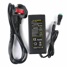 12v 5a AC to DC Adapter Charger Power Supply for LED Light CCTV Camera UK Plug