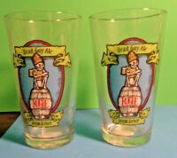 2 DEAD GUY ALE OREGON BREWED ROGUE BEER GLASSES